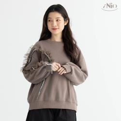 【iNio】小奢華內刷毛圓領長袖上衣(S-L適穿)-現貨快出【C0W1272】