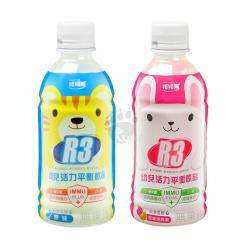 維維樂 R3幼兒活力平衡飲品 350ml*24入 (柚子+草莓奇異果各12罐)