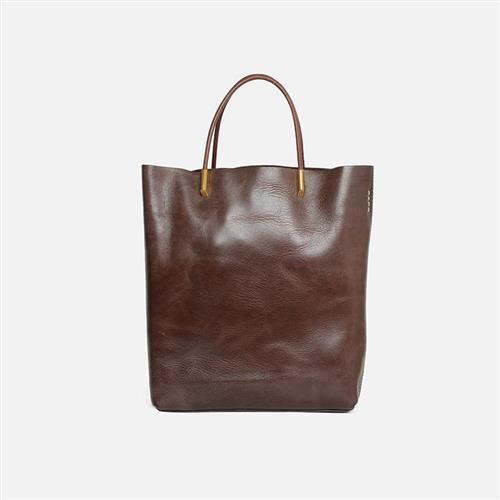 【米蘭精品】手提包真皮托特包-大容量肩背牛皮子母包6色73zo23/