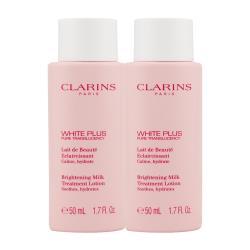 【CLARINS 克蘭詩】智慧美白高機能化妝水 50ML x 2 -潤澤型