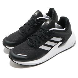adidas 慢跑鞋 Alphatorsion 運動休閒 女鞋 愛迪達 路跑 緩震 輕量 透氣 黑 白 FY0008 [ACS 跨運動]