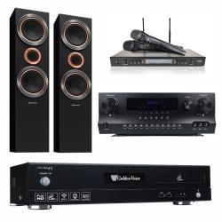 金嗓 CPX-900 F1 點歌機4TB+Danweigh DW 1+DoDo Audio SR-889PRO+Pioneer S-RS55TB