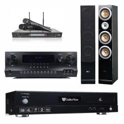 金嗓 CPX-900 F1 點歌機4TB+Danweigh DW 1+DoDo Audio SR-889PRO+QX-900F