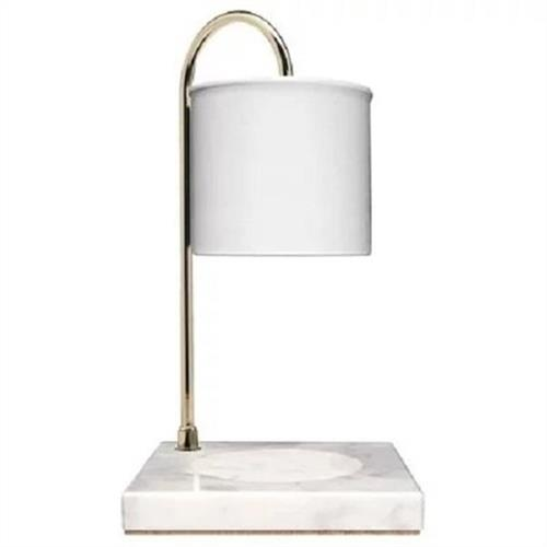 hoi! 瑞典VANA 蠟燭暖燈-白色大理石檯款(大)