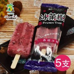 大樹農會 桑椹冰棒(85g*5支)