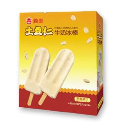 義美土豆仁牛奶冰棒(5支/盒)