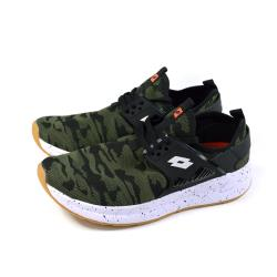 LOTTO 運動鞋 針織 迷彩綠 男鞋 LT9AMR0715 no026