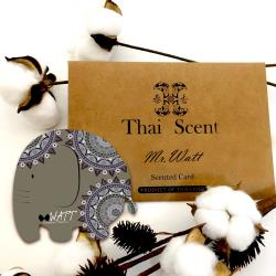 ThaiScent泰香 MR.Watt瓦特先生大象香氛掛片