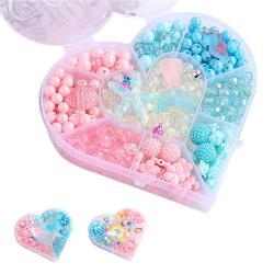 2入-DIY兒童串珠手工玩具 兒童玩具 親子配飾