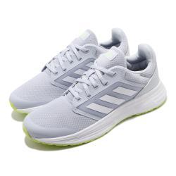 adidas 慢跑鞋 Galaxy 5 運動休閒 女鞋 愛迪達 三線 路跑 透氣 球鞋穿搭 藍 白 FY6745 [ACS 跨運動]