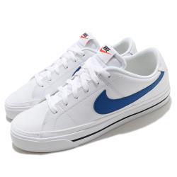 Nike 休閒鞋 Court Legacy 運動 男鞋 基本款 簡約 舒適 球鞋 穿搭 白 藍 CU4150101 [ACS 跨運動]