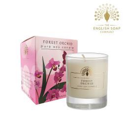 英國 The English Soap Company 蘭花 Forest Orchid 170g 綴花卉香氛蠟燭