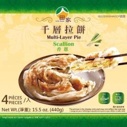 田家拉餅 香蔥千層拉餅(120g*4入/盒)