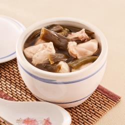 呷七碗 台式剝皮辣椒雞(490g/包)