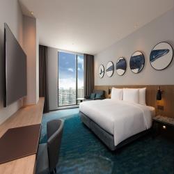 桃園【和逸HOTEL COZZI】雙人平日住宿券★ 6歲以下免費住★全台第一家海洋主題飯店★