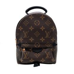 【Louis Vuitton】Palm Springs Mini Monogram 迷你後背包(M44873-咖)