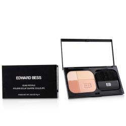 Edward Bess 四色臉部修容盤(含刷)Quad Royale - # 02 Monte Carlo 7g/0.25oz