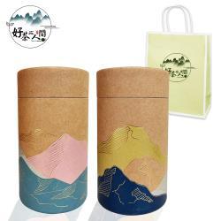 【好茶在人間】宮禧恭喜經典高山茶葉禮盒/阿里山+鹿谷/半斤/高山茶/茶葉/禮盒