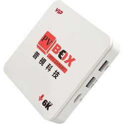 普視電視盒 P4 +語音遙控器 4G+64G (標配 HDMI線、電源組)  PVBOX