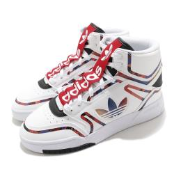 adidas 休閒鞋 Drop Step XL 高筒 男鞋 愛迪達 三葉草 中國新年 CNY 穿搭 白 紅 Q47200 [ACS 跨運動]