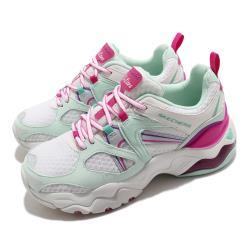 Skechers 休閒鞋 D Lites 3 Air 厚底 女鞋 老爹鞋 修飾 耐磨 記憶型泡棉鞋墊 白 粉 149261WTQP [ACS 跨運動]