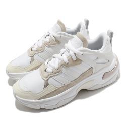 adidas 休閒鞋 Boujirun 運動 厚底 女鞋 愛迪達 老爹鞋 增高 穿搭 白 米 FY6053 [ACS 跨運動]
