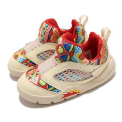 Nike 休閒鞋 Jordan 5 Retro 運動 童鞋 喬丹 經典款 中國新年 襪套 小童 米白 彩 DD2242100 [ACS 跨運動]