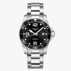 LONGINES 浪琴 L37814566 康卡斯潛水系列陶瓷框機械腕錶 41mm