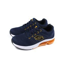 LOTTO 運動鞋 針織 深藍色 童鞋 LT0AKR1616 no032