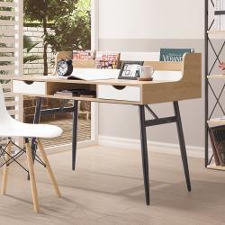 H&D 羅傑4尺黑腳書桌
