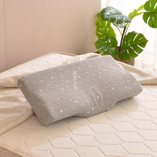 LooCa石墨烯天然乳膠健康機能枕/