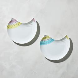 有種創意 - 日本晴九谷燒 - 福太太淺盤(2件組)