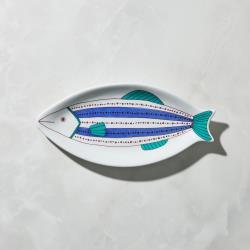 有種創意 - 日本晴九谷燒 - 魚大盤 - 點線紋