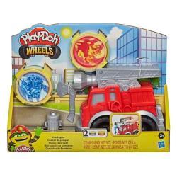 【 Play-Doh 培樂多黏土 】 車輪系列 消防車遊戲組(F0649)