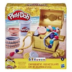 【 Play-Doh 培樂多黏土 】 閃亮藏寶箱(E9435)