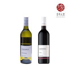 【古今人文】伊威 養生紅葡萄飲x3瓶+養生白葡萄飲x3瓶(750ml/瓶)_附提袋