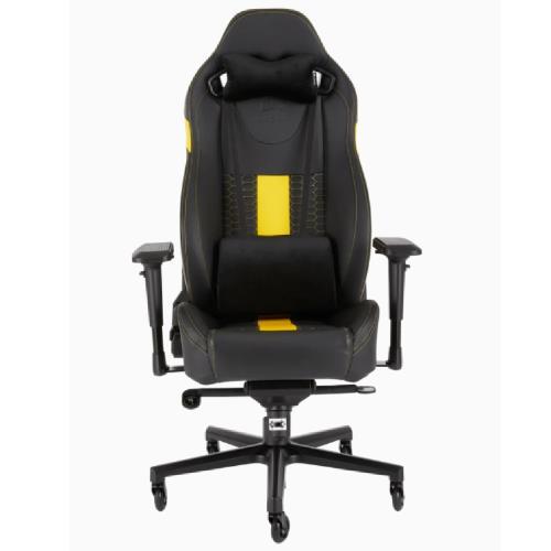 Corsair海盜船T2ROADWARRIOR電競椅Black/Yellow/