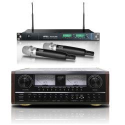SUGAR A-600 多功能專業卡拉OK擴大機+MIPRO ACT-869PRO 無線麥克風