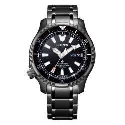CITIZEN星辰 NY0105-81E 鈦黑河豚限量款機械潛水錶