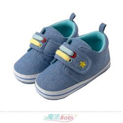 魔法Baby 幼兒學步鞋 防滑顆粒全包學步鞋~g2020b