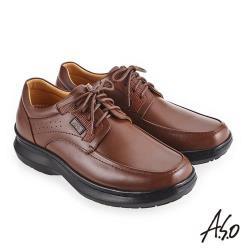 A.S.O 超能耐二代 舒適耐磨休閒鞋-茶
