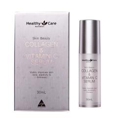 【澳洲Healthy Care】醫美級美肌膠原蛋白與維他命C彈力亮澤精華-30ml/瓶