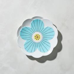 有種創意 - 日本晴九谷燒 - 花見淺盤 - 藍