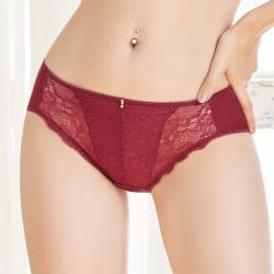 【U&Z】珍藏開運 中腰三角褲(魅力紅)-台灣奧黛莉集團