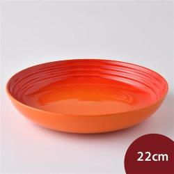 Le Creuset 義麵盤 22cm 火焰橘