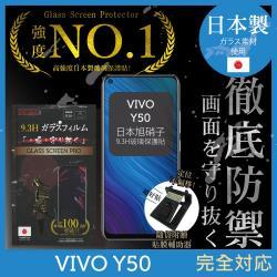 【INGENI徹底防禦】VIVO Y50 日本旭硝子玻璃保護貼 保護貼 玻璃貼 保護膜 鋼化膜 (非滿版)