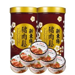 【新東陽】豬肉鬆 義大利麵肉醬 共8入組(豬肉鬆255g*2+義大利麵肉醬160g*6)