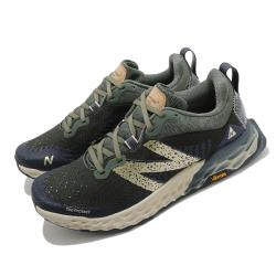 New Balance 慢跑鞋 Fresh Foam Hierro 寬楦男鞋 紐巴倫 輕量透氣 舒適避震 運動 健身 綠 藍 MTHIERB62E