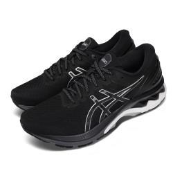 Asics 慢跑鞋 Gel-Kayano 27 2E 寬楦 男鞋 亞瑟士 路跑 透氣 高支稱 亞瑟膠 黑 灰 1011A835001