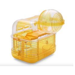 ACEPET愛思沛 734-A外掛球鼠籠 寵物鼠精緻室內籠(附鼠槽 飲水器 滾輪)豪華鼠籠 老鼠籠子/黃金鼠/布丁鼠/倉鼠/三線鼠